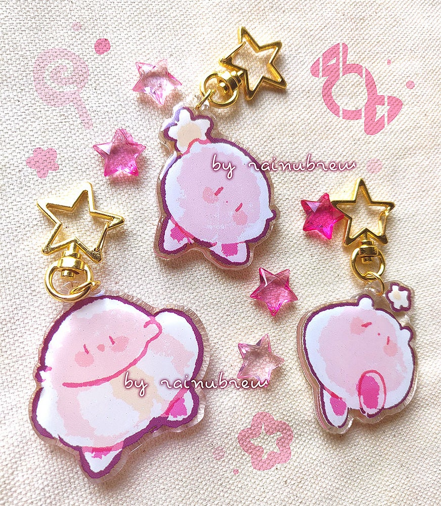 Image of Kirby | 2 inch charms