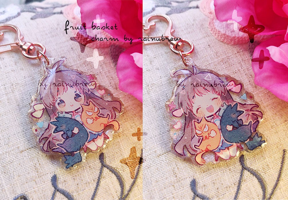 Image of Fruit basket | 2 inch charms