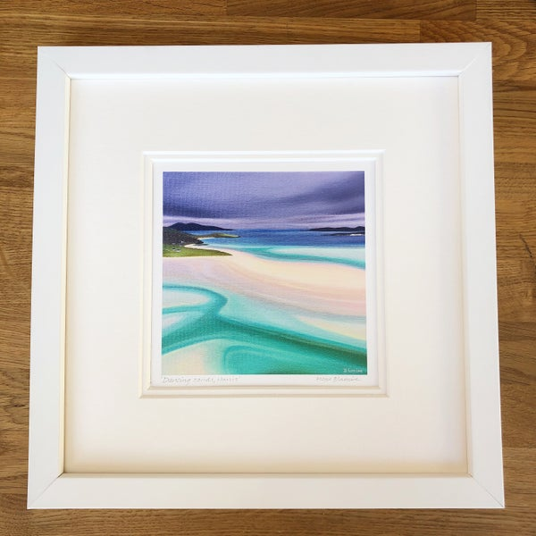 Image of Dancing sands, Harris giclée print