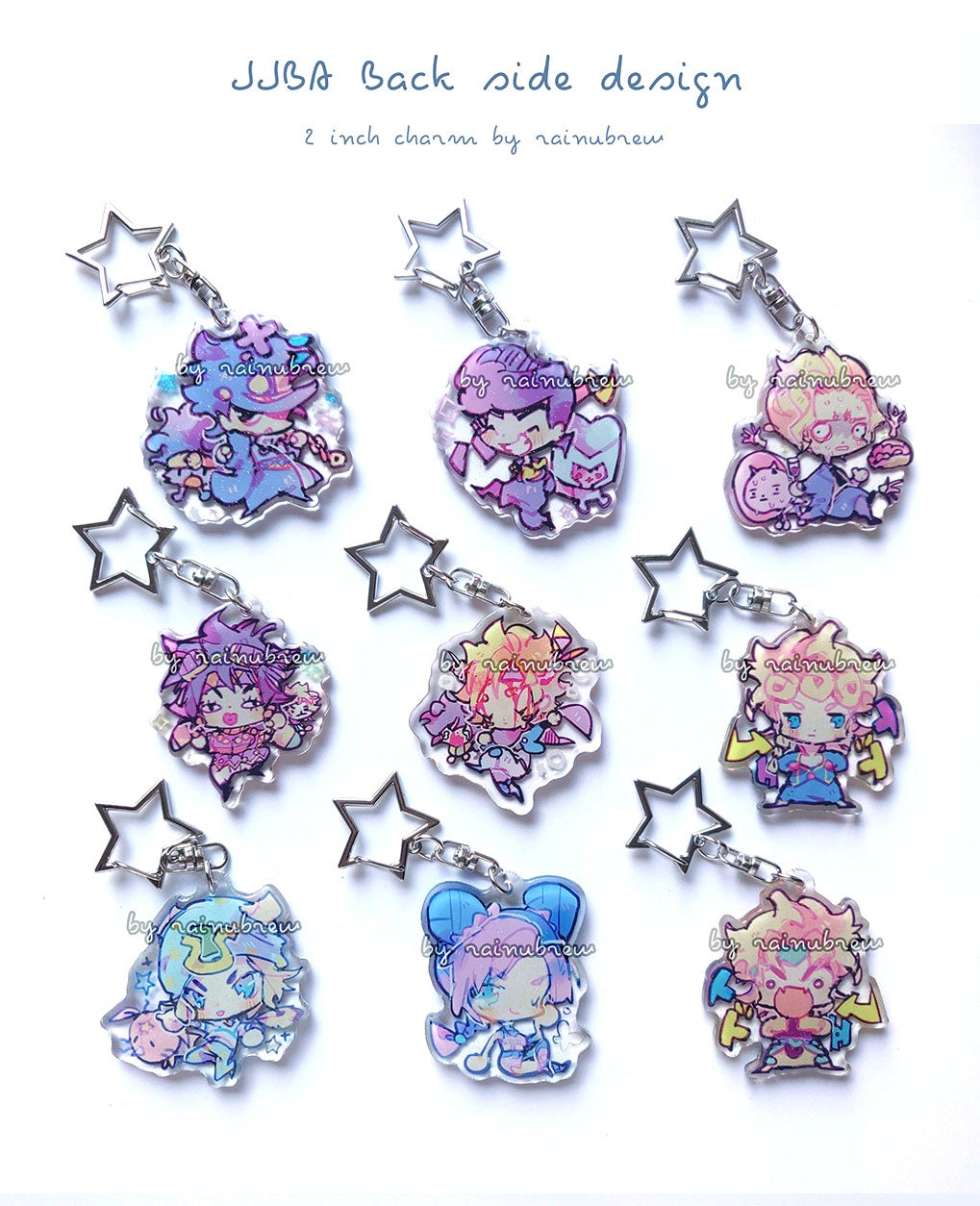 Image of Jojo JJBA | 2 inch charms