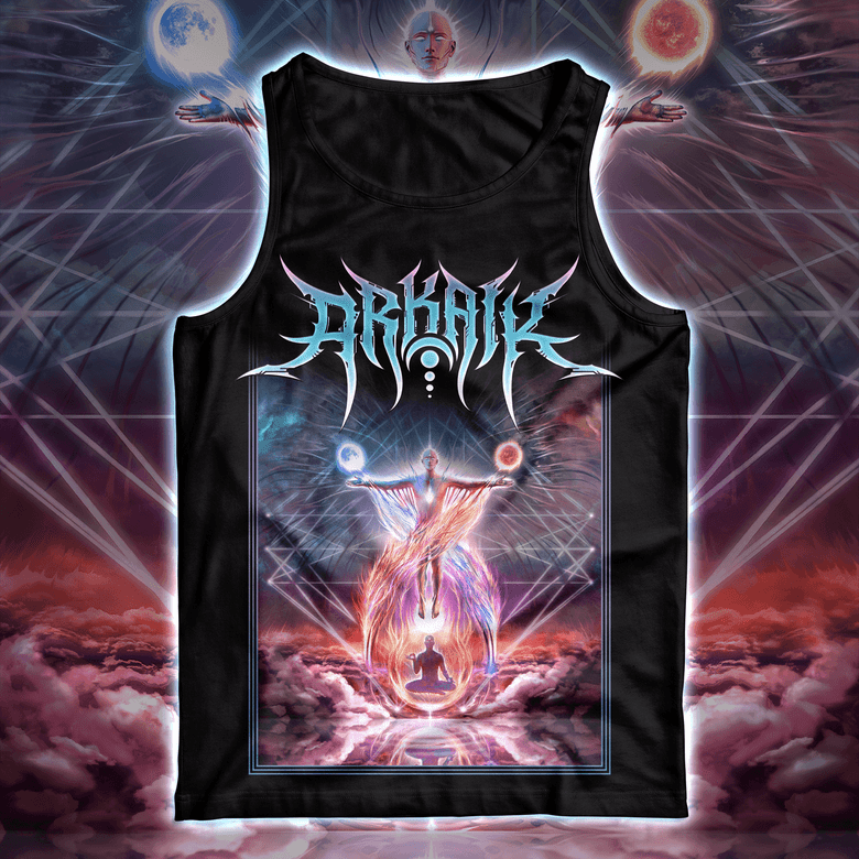 Image of ARKAIK - Supernal Flame Tank Top