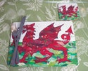 Welsh Dragon Table-mat