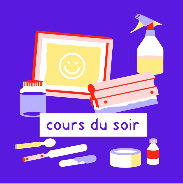 Image of COURS DU SOIR DE SÉRIGRAPHIE / Septembre - Novembre