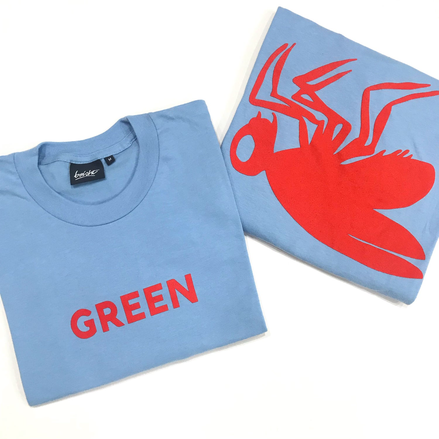 Image of COLOUR BLIND TEE 'GREEN'