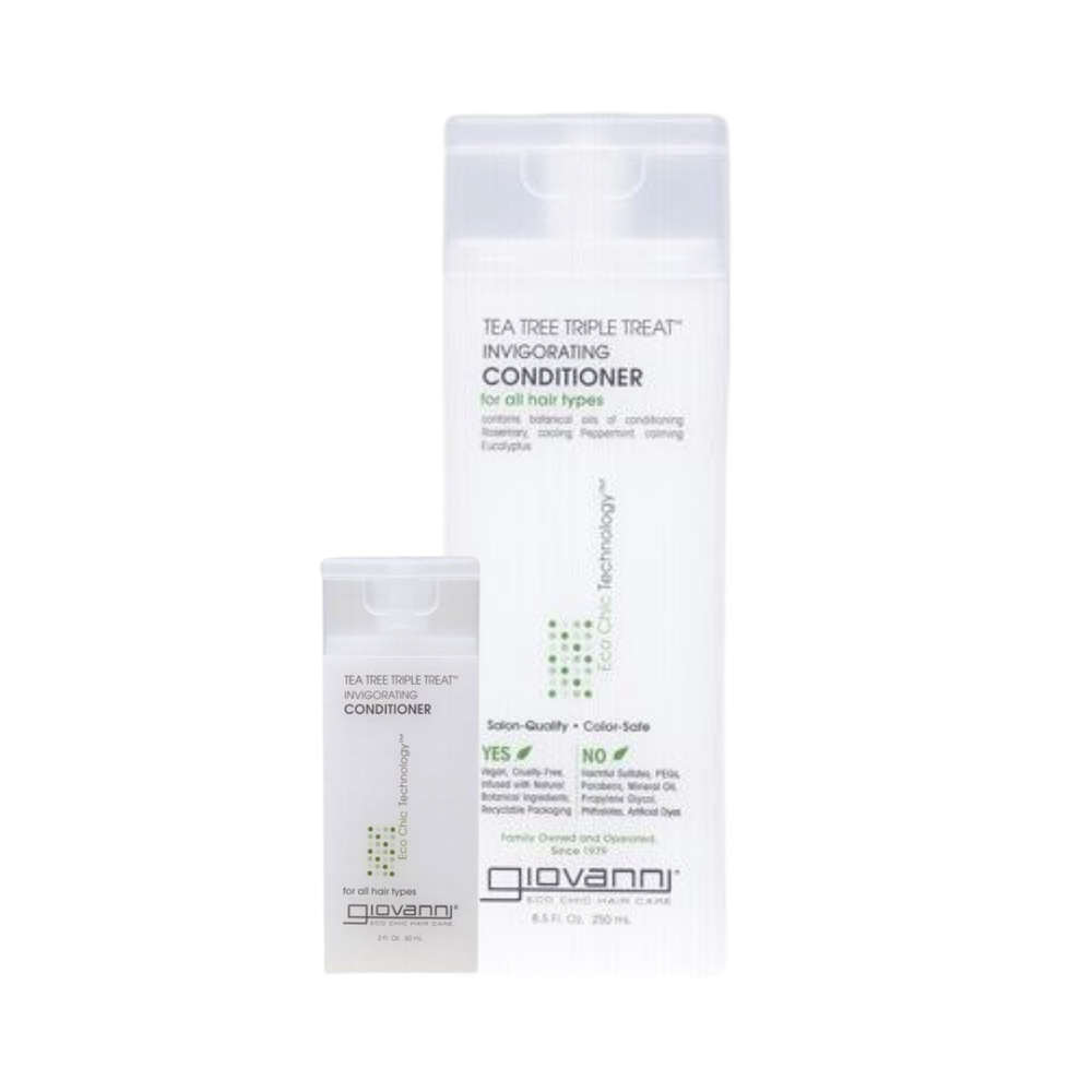 Image of Giovanni Tea Tree Triple Treat™ Invigorating Conditioner | 60ml/250ml