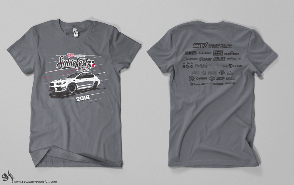 Image of Subiefest Midwest 2019 Official Event T-Shirt
