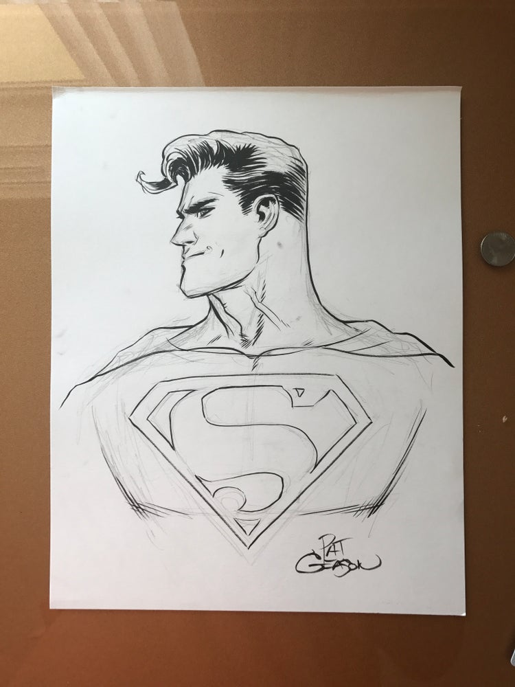 Image of Abandond Superman art