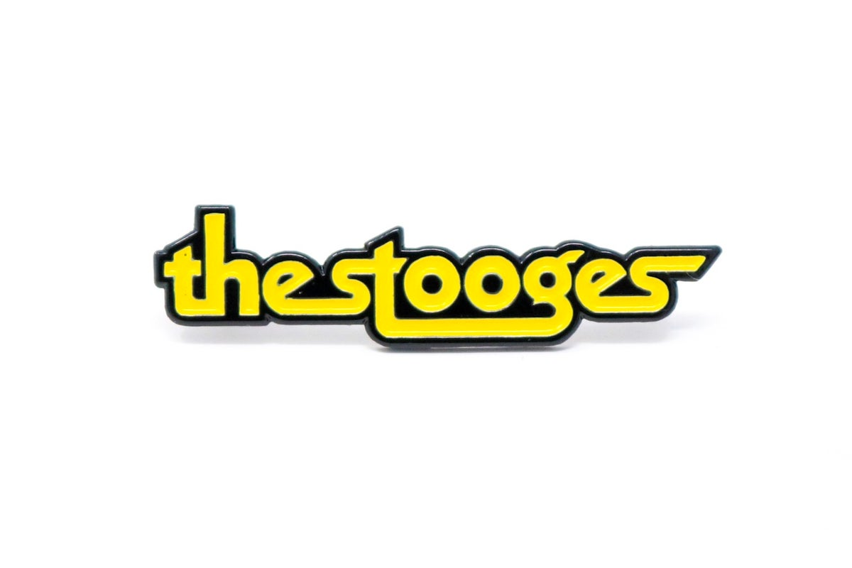Image of The Stooges Logo Enamel Pin