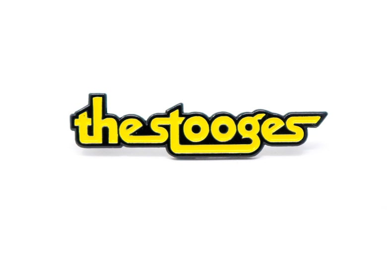 Image of The Stooges Logo Enamel Pin