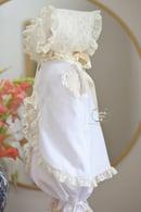 Image 2 of New Lyla Heirloom Dress & Bonnet Set