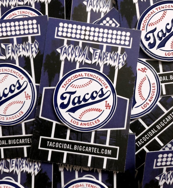 Image of Tacos Baseball Pin