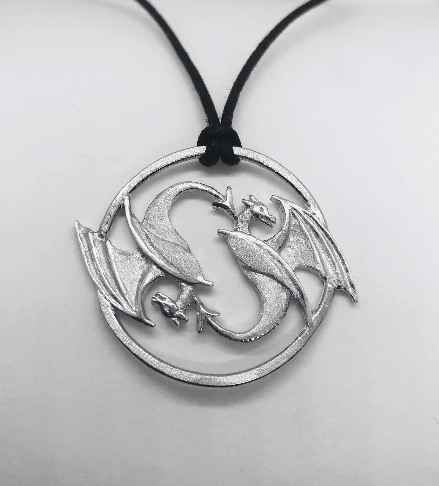 Image of Yin and Yang Dragon Pendant