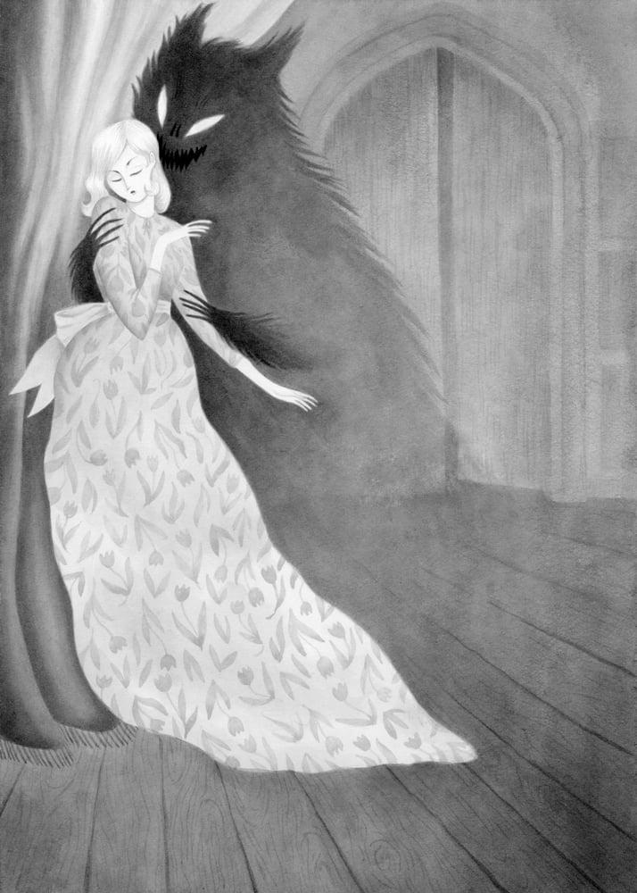 Image of Carmilla (8.5 x 11 print)