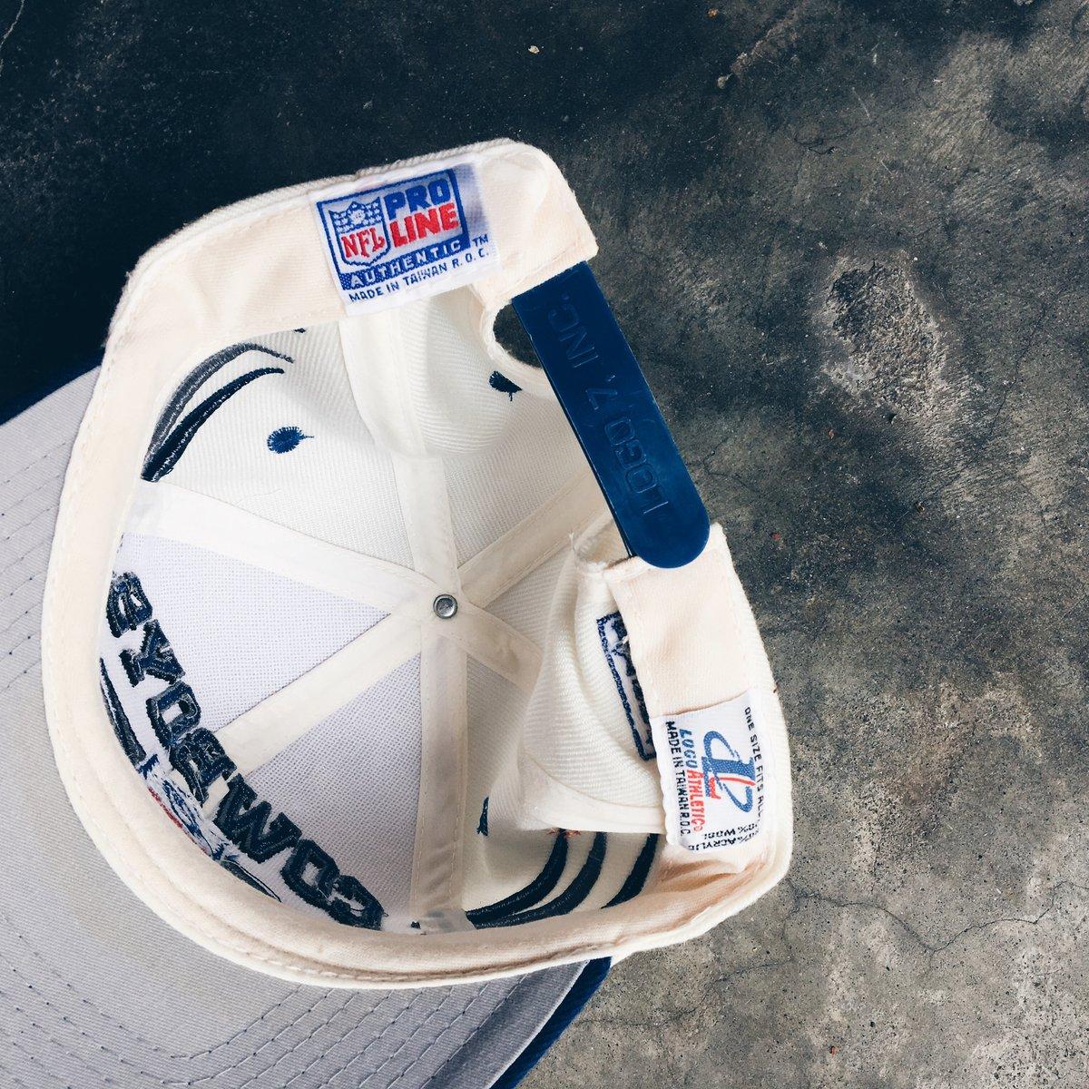 "Image of Original 90's Logo Athletic ""Diamond"" Dallas Cowboys Snapback."