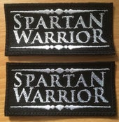 Image of Spartan Warrior logo patches