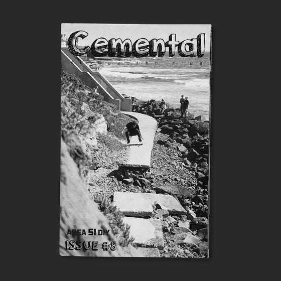 Image of Cemental Skateboard Zine #8