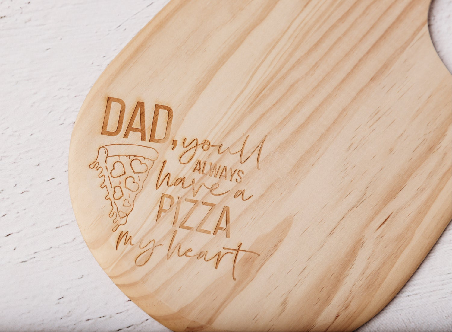 Image of Custom Engraved Pizza Paddle