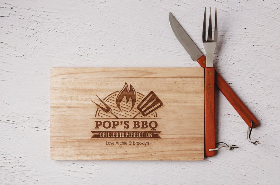 Image of BBQ Grilled to Perfection Chopping Board