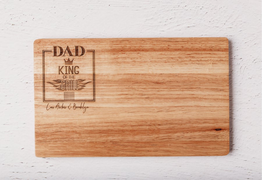 Image of King of The Grill Chopping Board
