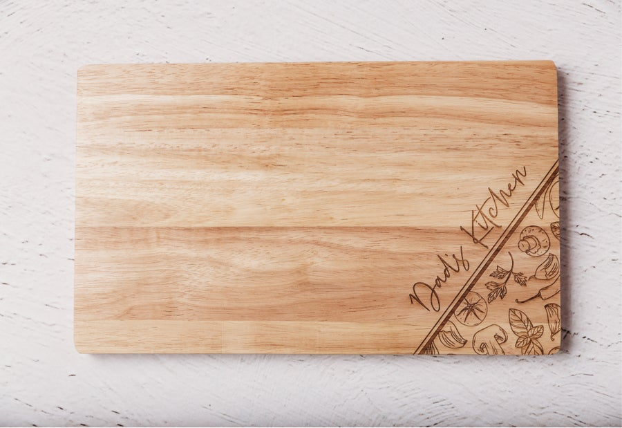 Image of Custom Name's Kitchen Chopping Board