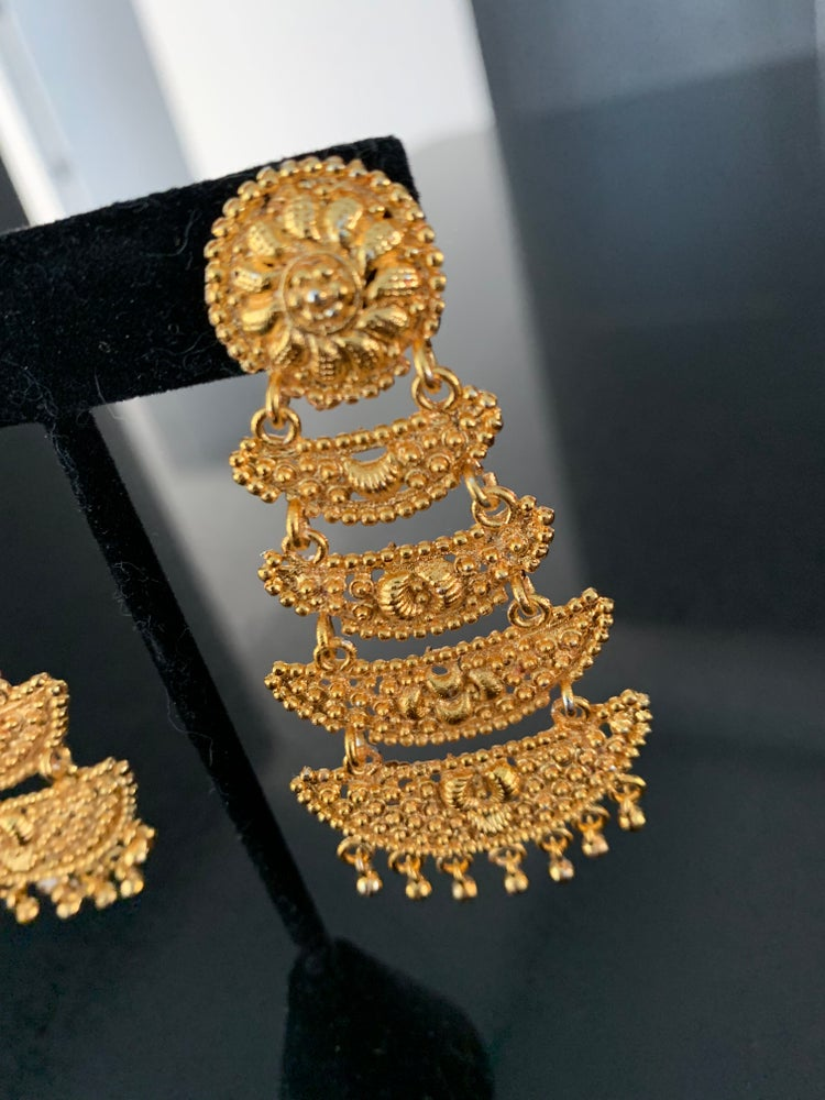 Image of Henna Earrings