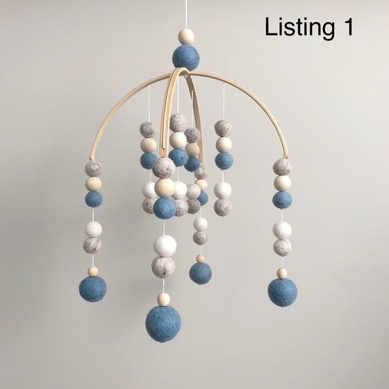 Image of Mobiles - felt balls