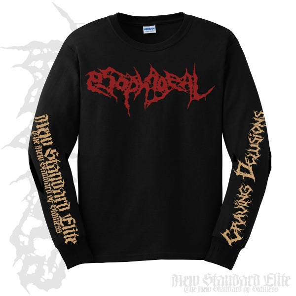 "Image of ESOPHAGEAL ""CRAVING DELUSIONS"" LONG SLEEVE"