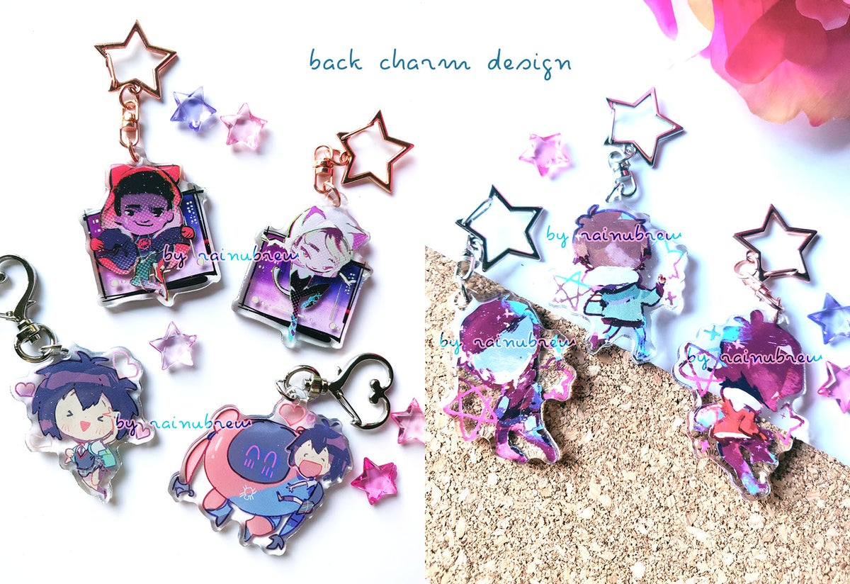 Image of Spiderverse and voltron | 2 inch charms
