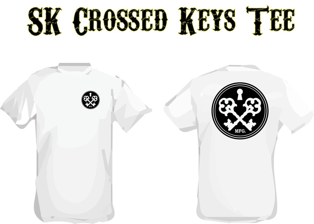Image of SK Crossed Keys Tee
