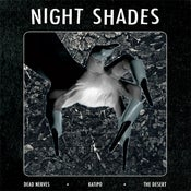 "Image of 7"". The Night Shades : Dead Nerves +2.     Ltd Edition Pink vinyl."