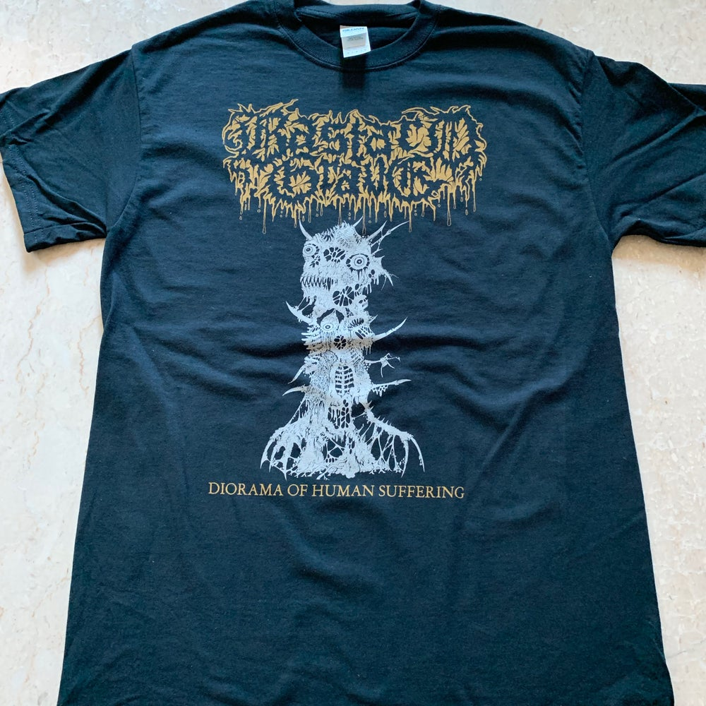 "Image of BASTARD GRAVE ""Diorama Of Human Suffering"" T-Shirt"