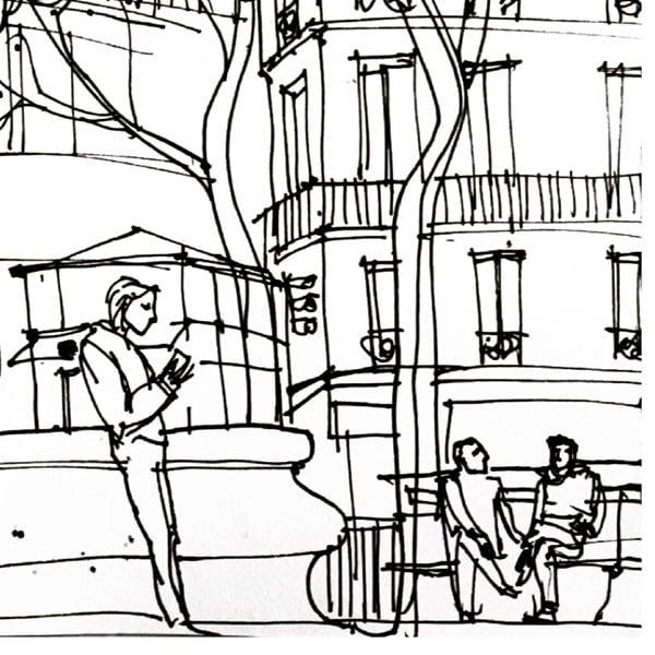Image of Place Saint-Sulpice, Paris