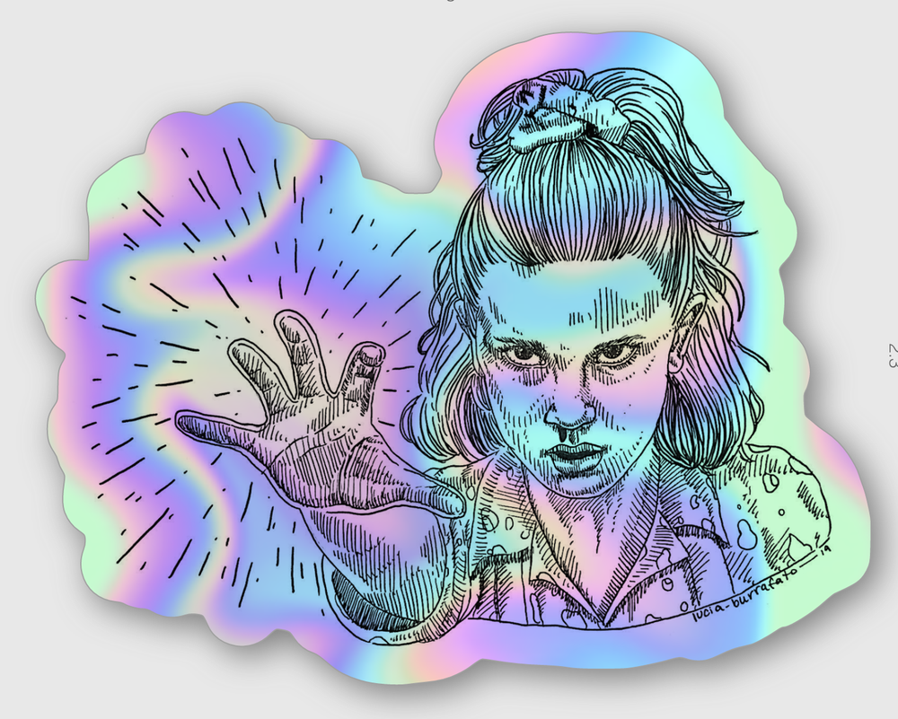 Image of Eleven Holographic Stickers