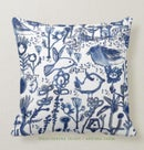 Image of Blue Animals Pillow