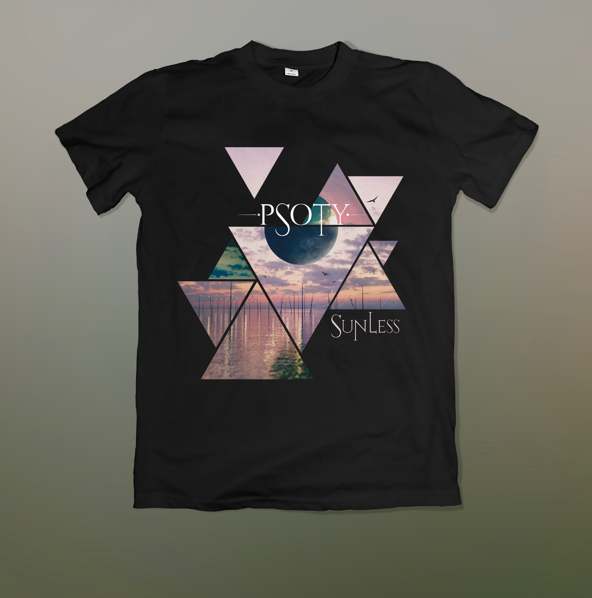 Image of Limited Edition - SUNLESS - Album Cover shirt