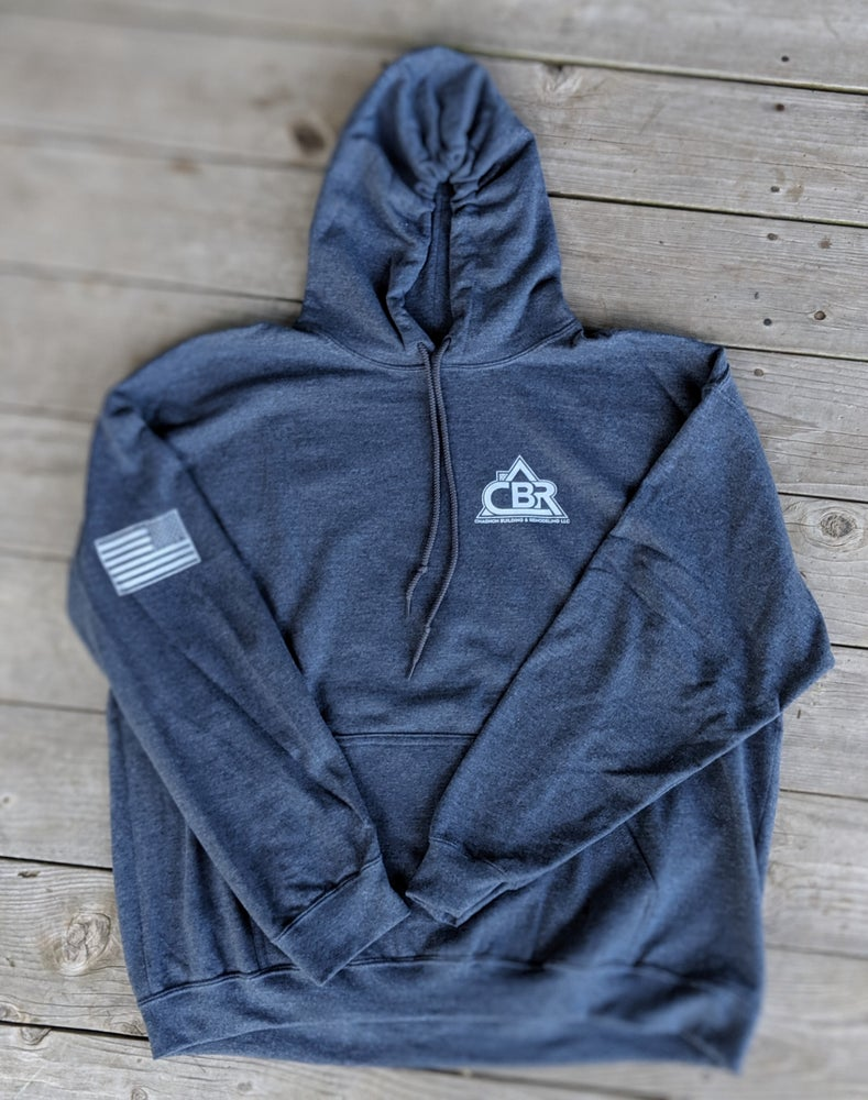 Image of CBR Dark Heather Pullover Hoodie - 1st Edition