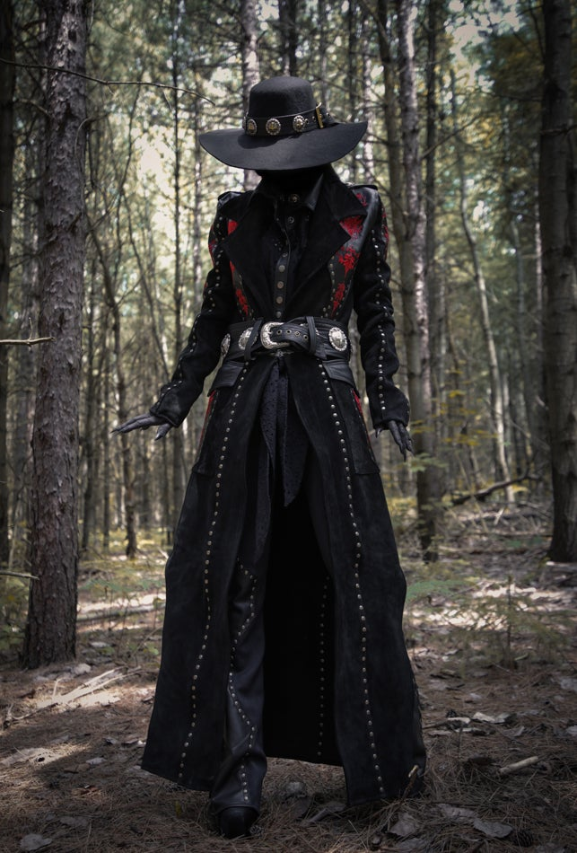 Image of Toxic Vision Devil's Garden duster jacket