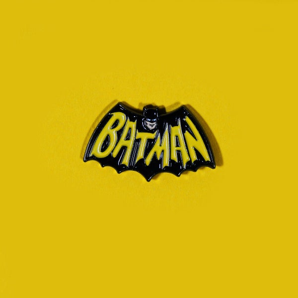 Image of Bat Logo '66 enamel pin