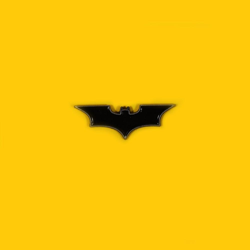 Image of Bat Logo '08 enamel pin