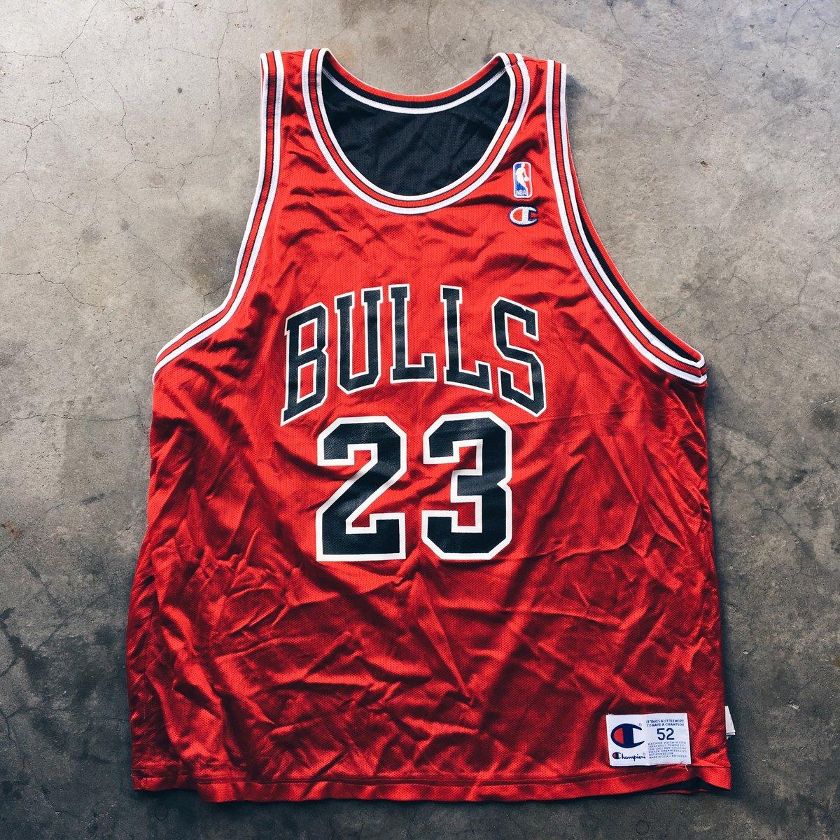 Image of Original 90's Champion MJ Reversible Jersey.