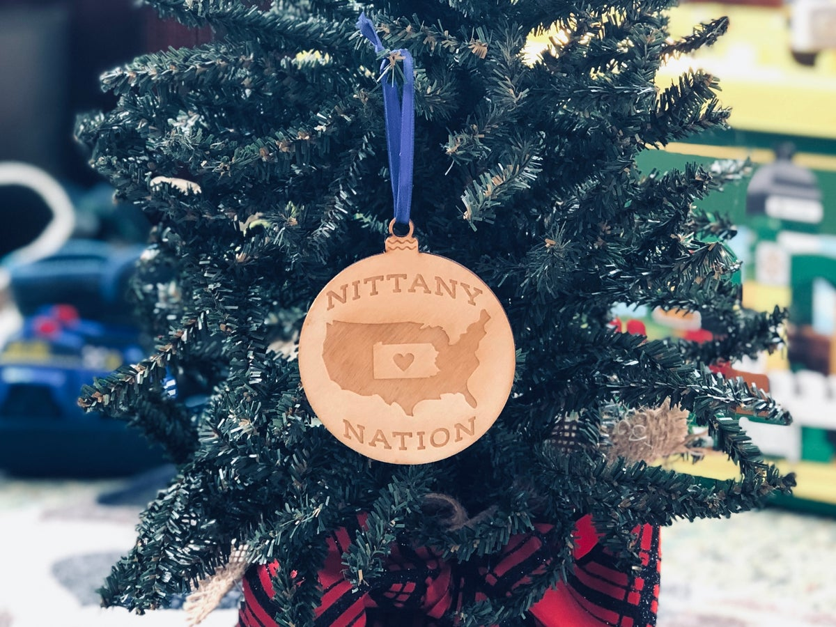 Image of Wood Nittany Nation Ornament