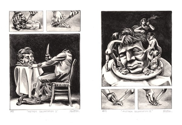 "Image of ""Another Decapitation I & II"" prints"