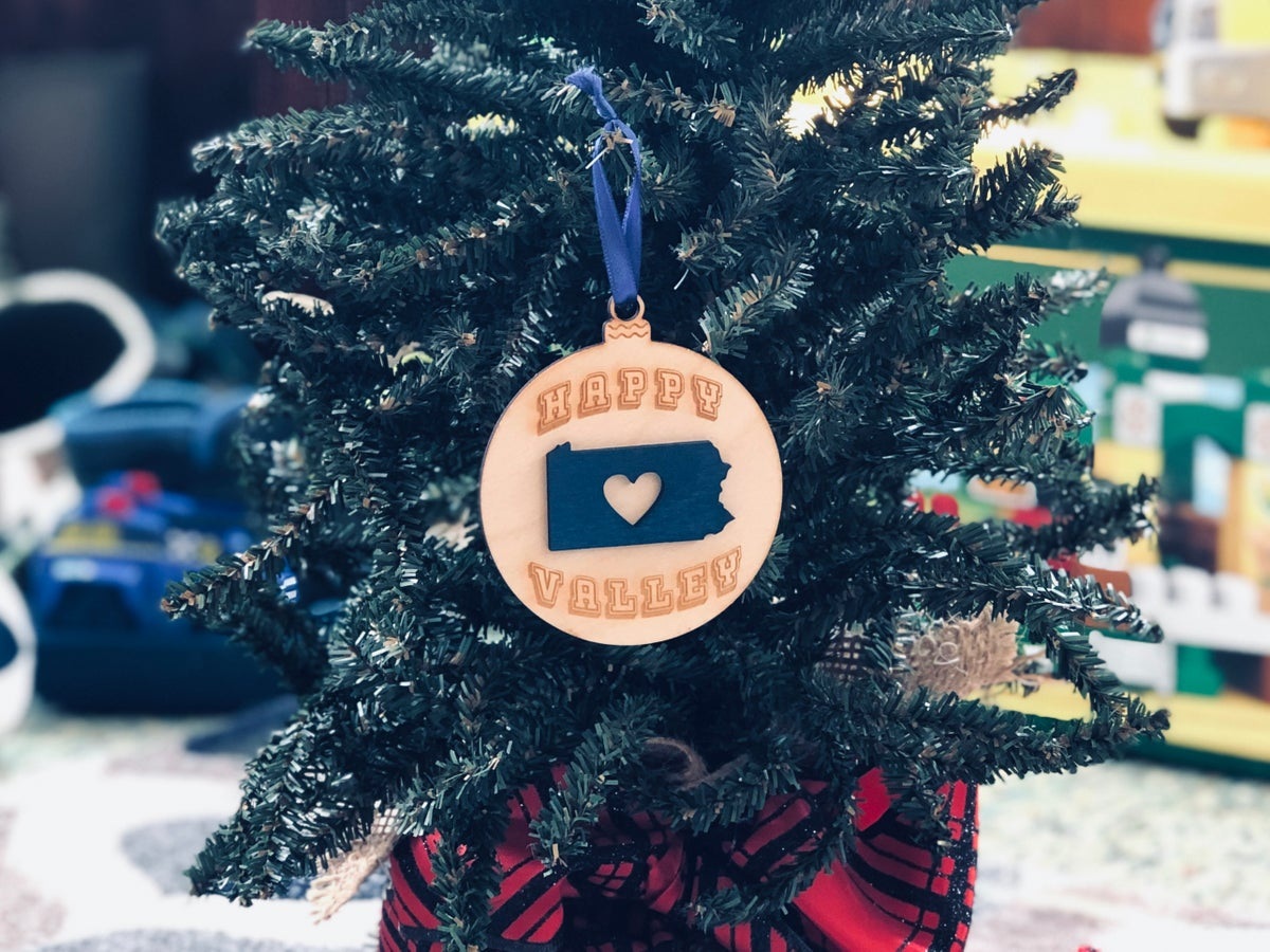 Image of HV Heart PA Ornament