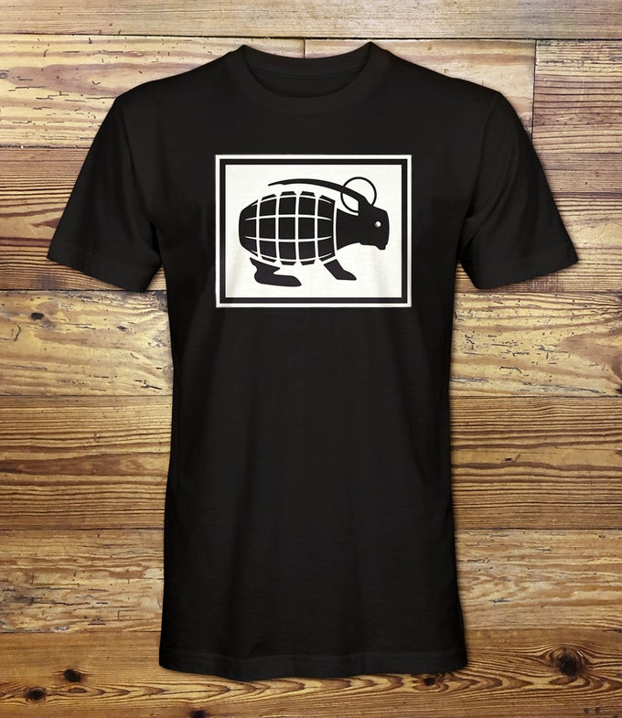 Image of Grenade Bunny Tee - Black - Free Shipping!