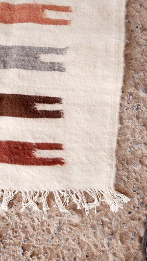 Image of Moroccan Kilim Rug - Graphic