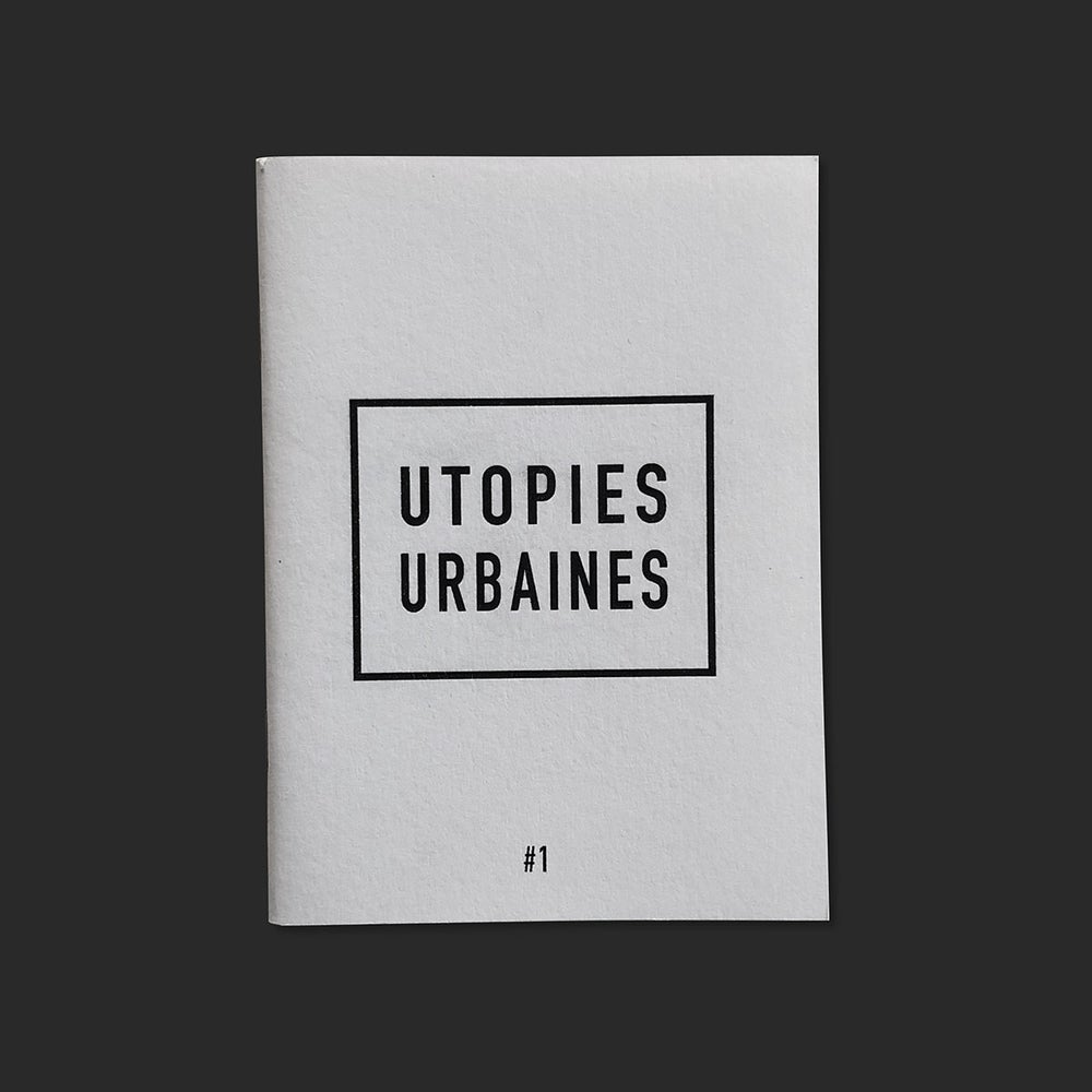 Image of Equis zine – Utopies Urbaines #1