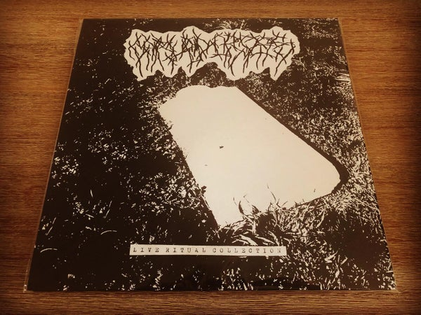 "Image of CARVED CROSS - ""Live Ritual Collection"" 12"" Double LP"