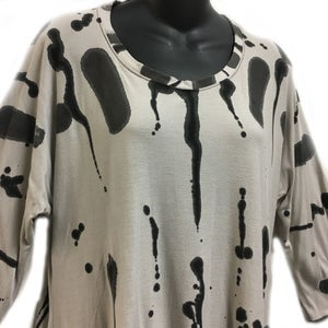 Image of  Bamboo - Joy Tunic - Hop Scotch Hand Painted Design