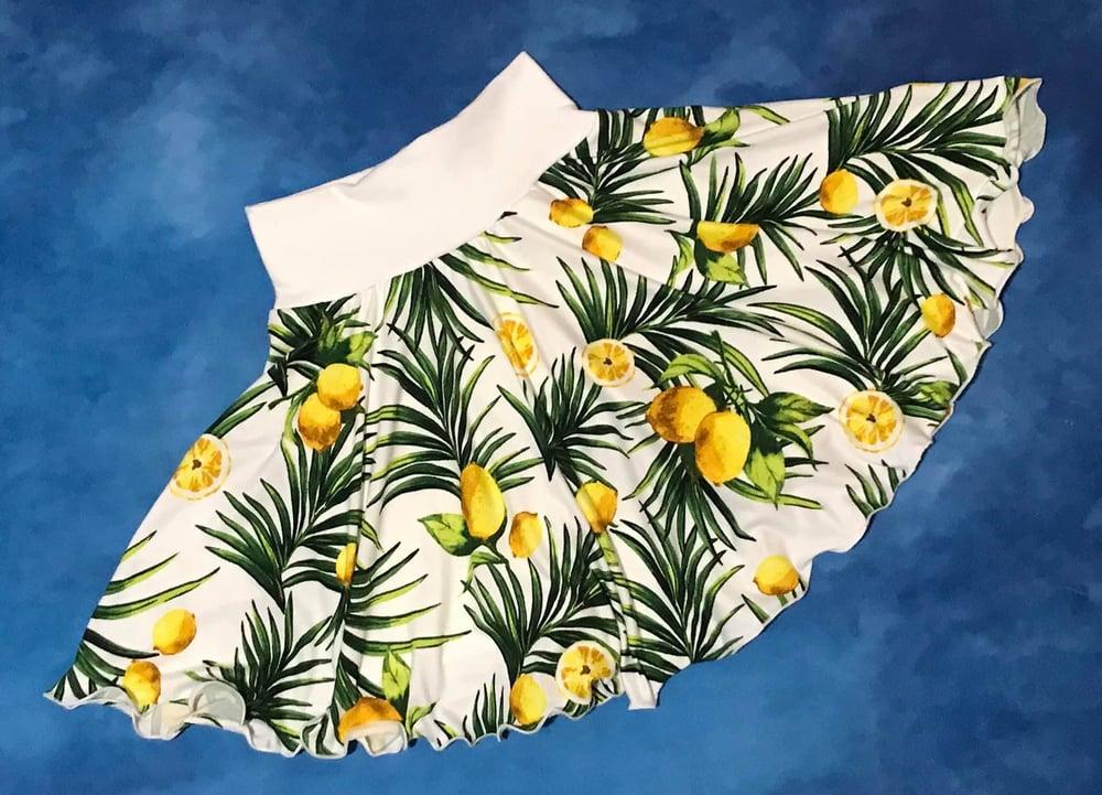 Image of Lemons Brushed Poly