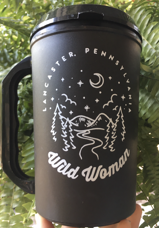 Image of Wild Woman Travel Mug